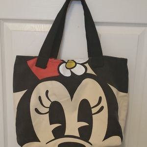 Minnie Mickey Mouse 2 sided tote bag Disney